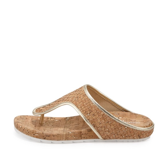 Donald J Pliner Merie Cork Thong Sandal